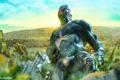 Картинка джунгли, солдат, Crysis