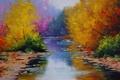 Картинка арт, fall colors, рисунок, artsaus