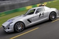 Картинка Safety Car, AMG, speed, SLS, supercar, track, Mercedes-Benz