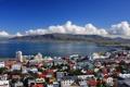 Картинка море, горы, залив, Исландия, Iceland, Reykjavik, Рейкьявик