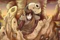 Картинка песок, усталость, битва, парень, Наруто, Naruto, трупы