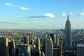 Картинка Нью-Йорк, панорама, вид сверху