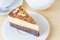 Картинка сладкое, чизкейк, шоколад, десерт, пирожное, орехи, торт