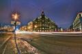 Картинка ночь, улица, Питер, Санкт-Петербург, Russia, спб, St. Petersburg