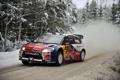 Картинка Зима, Авто, Снег, Лес, Спорт, Citroen, WRC