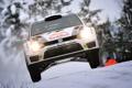 Картинка Зима, Авто, Белый, Снег, Спорт, Volkswagen, Машина