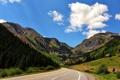 Картинка дорога, лето, пейзаж, горы