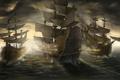 Картинка море, пушки, парус, Корабли, сражение