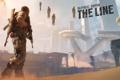 Картинка песок, город, Spec Ops:The Line, Игра, АК- 47, арт, автомат