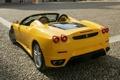 Картинка F430, Ferrari, феррари, спайдер, задок, Spider