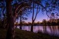 Картинка деревья, природа, река, фото, Австралия, катера, Mildura Victoria