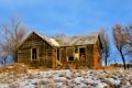Картинка зима, пейзаж, дом