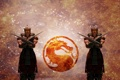 Картинка огонь, дракон, лого, mortal kombat, baraka