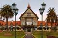 Картинка фонарь, Ротороа, New Zealand, Rotorua city, Новая Зеландия, музей, город