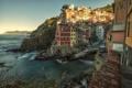 Картинка море, побережье, дома, Италия