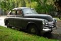 Картинка Победа, настоящий советский автомобиль, машина времени