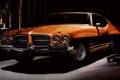 Картинка 1971, полумрак, Coupe, Pontiac, Понтиак, Muscle car, Hardtop