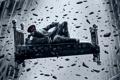 Картинка кровать, противогаз, art, Romantically Apocalyptic, alexiuss, gravity, zee captain