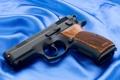 Картинка Пистолет, Обои, Фон, Оружие, Wallpapers, Полотно, Weapons