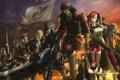 Картинка аниме, арт, Valkyria Chronicles, хроники валькирии, alfons auclair, leila peron, imca