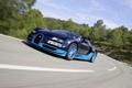 Картинка Roadster, поворот, Bugatti, Veyron, суперкар, гиперкар, Grand Sport
