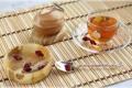 Картинка стекло, чай, розы, бутон, ложка, чашка
