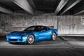 Картинка голубой, Z06, Corvette, Chevrolet, шевроле, blue, корвет