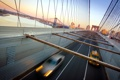 Картинка мост, США, автомобиль, Нью Йорк, brooklyn