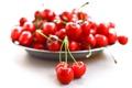Картинка вишня, ягоды, еда