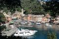 Картинка дома, бухта, яхты, Италия, Портофино
