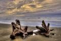 Картинка море, небо, пейзаж, закат