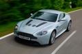 Картинка дорога, машина, Aston Martin, скорость, Vantage, V12