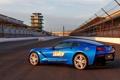 Картинка Chevrolet, Corvette, car, трасса, Stingray, blue, корвет