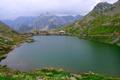 Картинка горы, озеро, дом, Швейцария, Вале