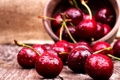 Картинка вишня, ягоды, fresh, черешня, sweet, cherry, berries