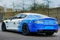 Картинка Hybrid, синий, Hydrogen, car, Rapide S, задок, blue
