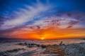 Картинка Florida, Caspersen Beach, Clouds On Fire