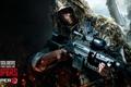 Картинка оружие, солдат, камуфляж, Снайпер, снайперская винтовка, бронежилет, Sniper: Ghost Warrior 2