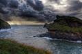 Картинка вода, облака, природа, фото, побережье, Англия, Небо