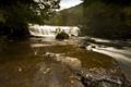 Картинка осень, природа, река, водопад