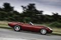Картинка дорога, машина, авто, ретро, обои, скорость, Jaguar