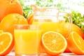 Картинка стакан, апельсины, кувшин, апельсиновый сок