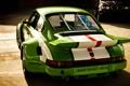 Картинка свет, фон, bmw, бмв, 911, тачки, зелёный