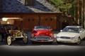 Картинка фон, гараж, Бьюик, 1953, and, бордовый, 2005