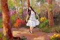 Картинка арт, Sean Wallis, A Walk Through the Garden