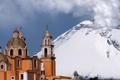 Картинка вулкан, Mexico, Puebla, попокатепетль