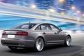 Картинка Concept, Audi, Ночь, Машина, Серый, e-tron, В Движении
