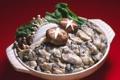 Картинка зелень, грибы, морепродукты, mushrooms, моллюски, greens, noodles