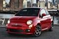 Картинка Wallpapers, Desktop, Fiat, Sport, Машина, Red, Car