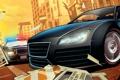 Картинка лос сантос, машины, Grand Theft Auto V, арт, полиция, Rockstar Games